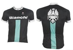 Bianchi - 3XLARGE FORMA REPORTE CORSE SİYAH CELESTE BEYAZ