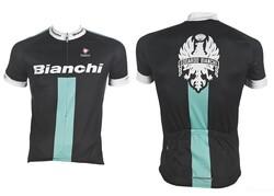 Bianchi - XLARGE FORMA REPORTE CORSE SİYAH CELESTE BEYAZ