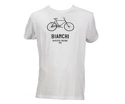 Bianchi - XLARGE MILITAR BIKE T-SHIRT BEYAZ