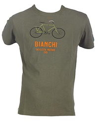 Bianchi - XXLARGE MILITAR BIKE T-SHIRT YAĞ YEŞİLİ