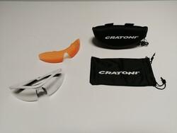 Cratoni - GÖZLÜK C-SHADE BEYAZ MAT CRATONİ 121103C5