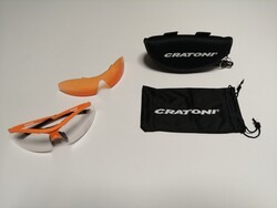 Cratoni - GÖZLÜK C-SHADE TURUNCU MAT CRATONİ 121111C5
