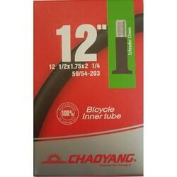 Chaoyang - İÇ LASTİK 12X1/2X1.75X2 1/4 AV 33MM ( KALIN SİBOP ) Y011601