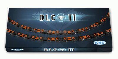 "ZİNCİR X11SL DLC/ORANGE ½""X11/128"" 116 LİNKS 11'Lİ"