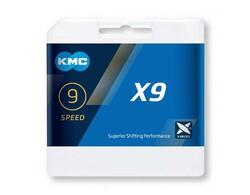 KMC - KMC ZİNCİR X9-93 NP/GYx116L 9 SPEED KUTULU 4715575470016