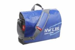 New Looxs - NEW LOOXS OMUZ ÇANTASI POSTİNO OFFİCE 16L 39X31.5X13CM MAVİ/GRİ SU GEÇİRMEZ