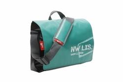 New Looxs - NEW LOOXS OMUZ ÇANTASI POSTİNO OFFİCE 16L 39X31.5X13CM YEŞİL/SİYAH SU GEÇİRMEZ